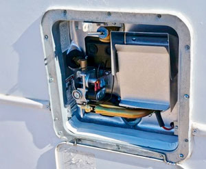New RV and a Primer on RV Water Heaters   NJ 350
